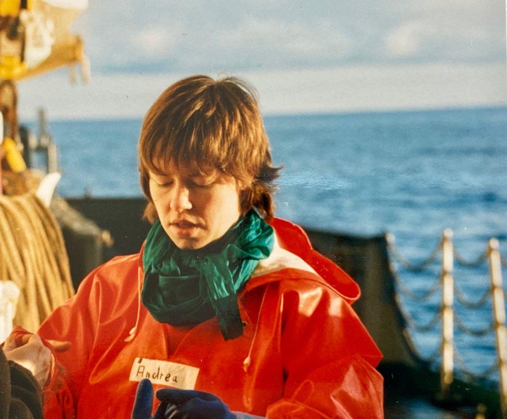 Als Meeresgeologin